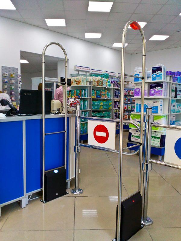 rf eas atenna, antivor, антикражная в супермакете, антикражка в супермаркет, противокражные ворота, антивор в аптеке, антикражка киев