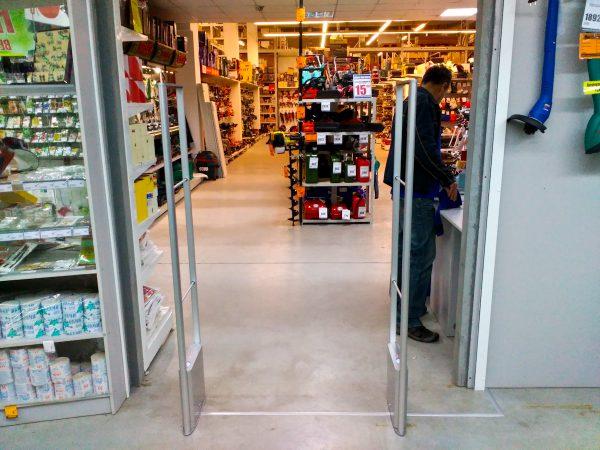 rf eas atenna, antivor, антикражная в супермакете, антикражка в супермаркет, противокражные ворота, антивор в аптеке, антикражка