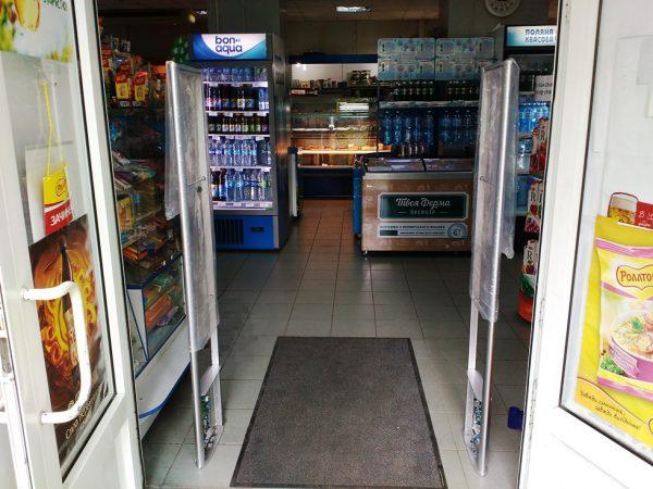 Система антивор в супермаркете