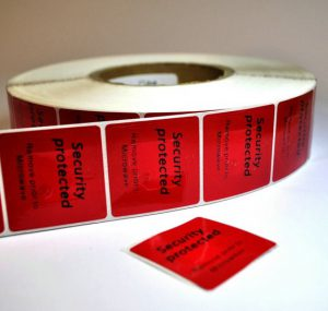 RF Frozen labels